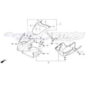50803-NF4-610 ナット,カウルステー HRC ホンダレーシング ethosdesign