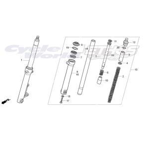 51400-NLA-013 フォークASSY,Rフロント HRC ホンダレーシング ethosdesign