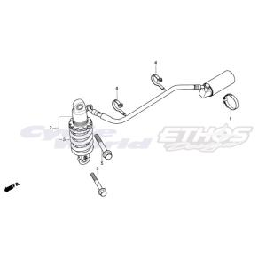 52403-NLA-003 スプリング,リアクッション HRC ホンダレーシング|ethosdesign