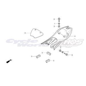77220-NX2-000 ラバー,シート HRC ホンダレーシング ethosdesign