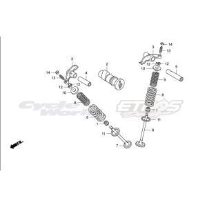 14101-NX2-000 シャフト,カム HRC ホンダレーシング ethosdesign