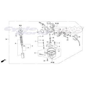 16100-NX2-003 キャブレターASSY HRC ホンダレーシング ethosdesign