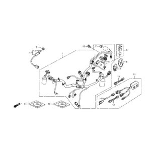 32100-K26-R00 ハーネス,ワイヤー HRC ホンダレーシング|ethosdesign