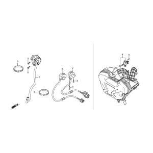 35130-K26-R00 スイッチASSY,ST IGN HRC ホンダレーシング|ethosdesign