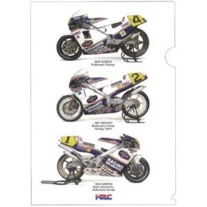 HRC ワークスマシンコレクションクリアファイル ホンダレーシング 82046-N99-000 ethosdesign