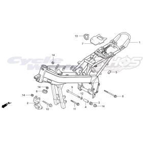 90105-NX2-000 ソケットボルト,8×155 HRC ホンダレーシング ethosdesign