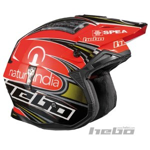 HC1023 ZONE4 トニ・ボウ レプリカ HEBO エボ トライアルヘルメット MFJ公認|ethosdesign