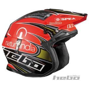 HC1023 ZONE4 トニ・ボウ レプリカ HEBO エボ トライアルヘルメット MFJ公認レース専用|ethosdesign