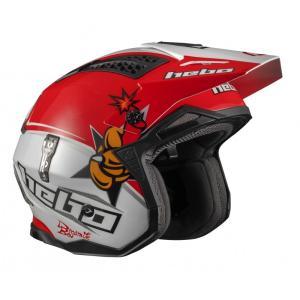 HC1027 ZONE4 ボウ・ダイナマイト  HEBO エボ トライアルヘルメット MFJ公認|ethosdesign