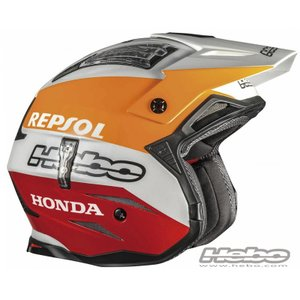 HC1050 ZONE4 MONTESAチーム HEBO エボ トライアルヘルメット MFJ公認|ethosdesign