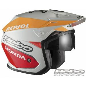 HC1153B ZONE5 MONTESAチーム HEBO エボ トライアルヘルメット|ethosdesign