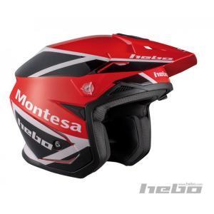 HC1154R ZONE5 MONTESAクラシック HEBO エボ トライアルヘルメット|ethosdesign
