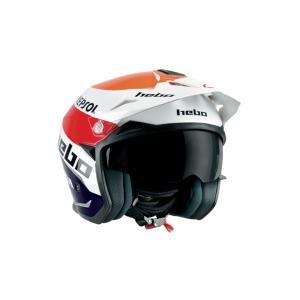 HC1156 ZONE5 MONTESAチーム3 HEBO エボ トライアルヘルメット|ethosdesign