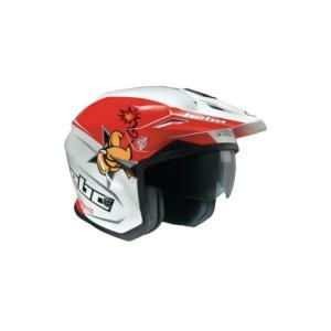 HC1157 ZONE5 ボウ・ダイナマイト HEBO エボ トライアルヘルメット|ethosdesign