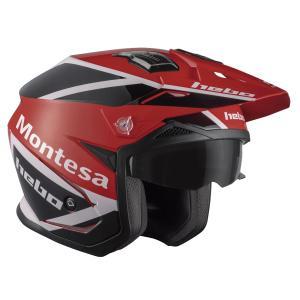 HC1158 ZONE5AIR MONTESAクラシック HEBO エボ トライアルヘルメット 競技用公道走行不可 ethosdesign
