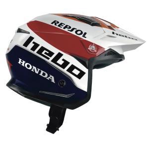 HC1159 ZONE5AIR MONTESAチーム3 HEBO エボ トライアルヘルメット 競技用公道走行不可 ethosdesign