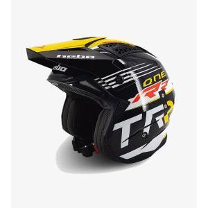 HELMTRS019  ZONE4 TRSファクトリーカラー HEBO エボ トライアルヘルメット MFJ公認|ethosdesign