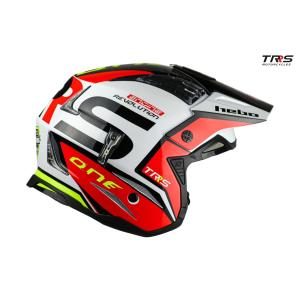 HELMTRS021  ZONE4 TRRSファクトリーカラー HEBO エボ トライアルヘルメット MFJ公認レース専用|ethosdesign