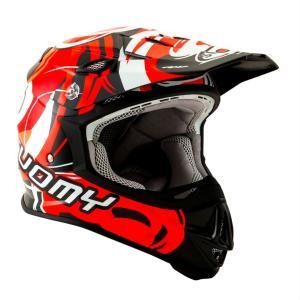 SMJ0040 SUOMY MR.JUMP VORTEX RED ヴォルテックス レッド ヘルメット SGマーク 公道走行 MFJ公認レースOK モトクロス エンデューロ オフロード|ethosdesign
