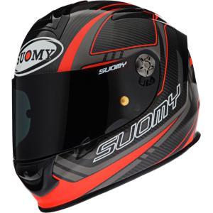 SSR0031 SUOMY SR-SPORT CARBON RED カーボン レッド L/XL ヘルメット SGマーク 公道走行OK|ethosdesign