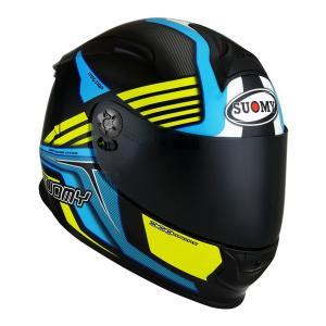 SSR0039 SUOMY SR-SPORT ATTRACTION LY アトラクション ブルーイエロー ヘルメット SGマーク 公道走行OK|ethosdesign