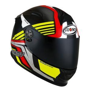 SSR0040 SUOMY SR-SPORT ATTRACTION RY アトラクション レッドイエロー ヘルメット SGマーク 公道走行OK|ethosdesign