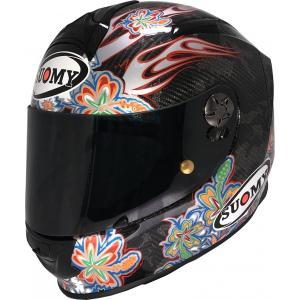 SSRX002 SUOMY SR-SPORT CARBON FLOWER カーボン フラワー L/XL ヘルメット SGマーク 公道走行OK ethosdesign