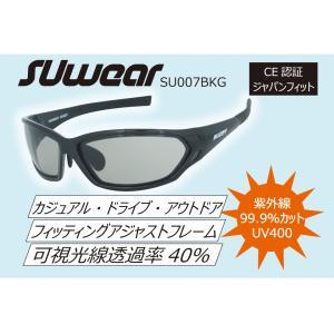 SU007BKG SUOMY SUwear サングラス UVカット カジュアル ドライブ|ethosdesign