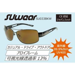 SU033BKW SUOMY SUwear サングラス UVカット カジュアル ドライブ|ethosdesign