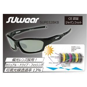 SUP032BKB SUOMY SUwear サングラス UVカット 偏光レンズ|ethosdesign