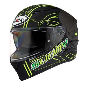 SVR0012 SUOMY SPEEDSTAR AMLET YELLOW スピードスター アムレット イエロー ヘルメット SGマーク 公道走行OK|ethosdesign