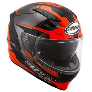 SVR0026 SUOMY SPEEDSTAR CAMSHAFT OR スピードスター カムシャフト オレンジ ヘルメット SGマーク 公道走行OK|ethosdesign