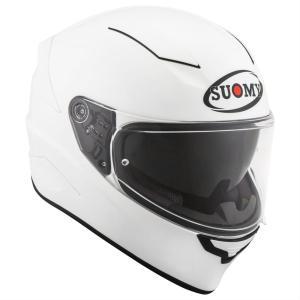 アウトレット SVR00W3 SUOMY SPEEDSTAR  スピードスター ホワイト ヘルメット SGマーク 公道走行OK|ethosdesign