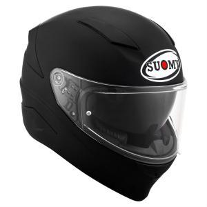 SVR00X6 SUOMY SPEEDSTAR MATT BLACK スピードスター マットブラック ヘルメット SGマーク 公道走行OK|ethosdesign
