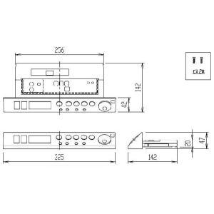 INAX 2007〜2008年モデル サティス DV-315GU用インテリアリモコン 354-1342-SET|etile