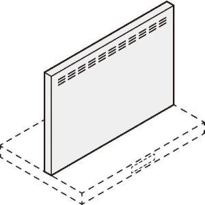 ADRシリーズ用金属幕板(間口60cm)セット高さ60cm用 ホワイト RFP-6-530AW|etile