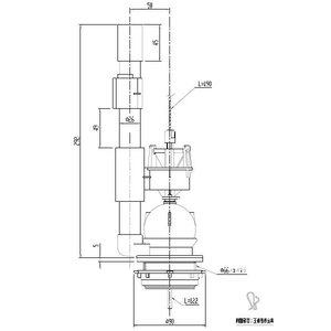 TF-3820C-10 大小切替フロート弁|etile