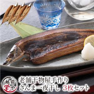干物 さんま サンマ 秋刀魚 開き 一夜干し 干物セット 3尾入 訳あり  ((冷凍))