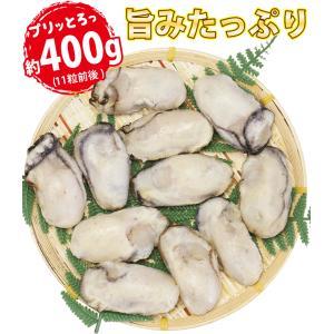 牡蠣 かき カキ 生 広島産 特大 400g (11粒前後入)  加熱用 セット 海鮮BBQ バーベキュー  ((冷凍)) etizentakaraya 05