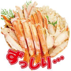 [送料無料]カニ かに 生ポーション かにしゃぶ 鍋 1.0kg & 特大 ズワイガニ ボイル ハーフカット1.2kg 蟹セット((冷凍)) ギフト|etizentakaraya|05
