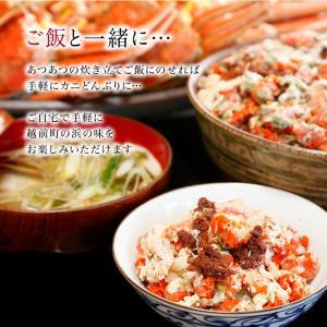 セイコガニ 甲羅盛り 1個(単品) かに カニ 蟹 せいこがに 香箱ガニ せこがに 越前ガニ  香箱ガニ ((冷凍)) etizentakaraya 15