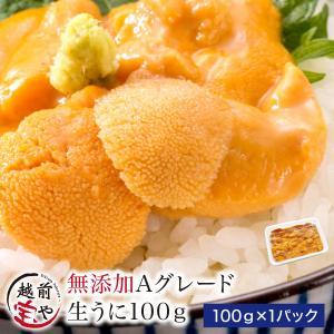 極上 生ウニ 無添加 100g  ((冷凍))|etizentakaraya