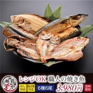 焼き魚 干物セット 電子レンジ 焼き魚 6種6尾 ((冷凍)) お取り寄せ 贈答 内祝 お祝い 御礼 誕生日 プレゼン コンペ 景品ト|etizentakaraya