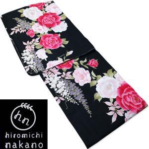 ゆかた hiromichi nakano/ナカノヒロミチ 仕立て上がり 高級変り織綿 プレタ浴衣|etizenya