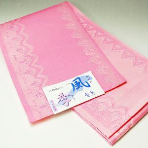 浴衣帯 全通 ピンクライン柄 単衣帯 半幅帯 日本製|etizenya