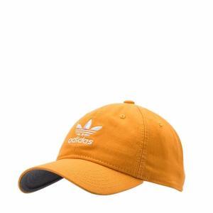 アディダスオリジナルス キャップ 黒 adidas Originals relaxed strap-back cap YELLOW 5145002|etny
