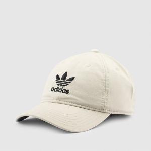 アディダスオリジナルス キャップ カーキ adidas Originals relaxed strap-back cap KHAKI BH7134|etny