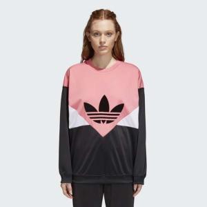 アディダスオリジナルス スウェット レディース L adidas Originals WOMAN CLRDO sweatshirt|etny