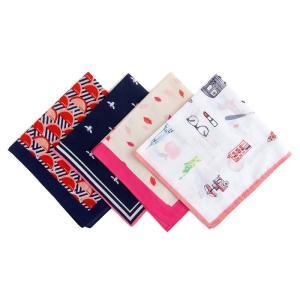 ジェイクルー コットン バンダナ スカーフ J.CREW WOMEN printed bandana 4 pattern etny