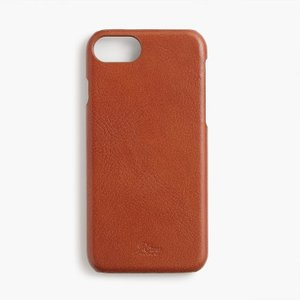 iPhoneケース ジェイクルー レザー J.CREW leather case for iPhone 6 / 7 / 8|etny